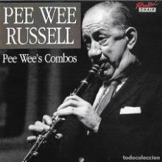 CDs de Música: PEE WEE RUSSELL. PEE WEE´S COMBOS. CD. Lote 84522980