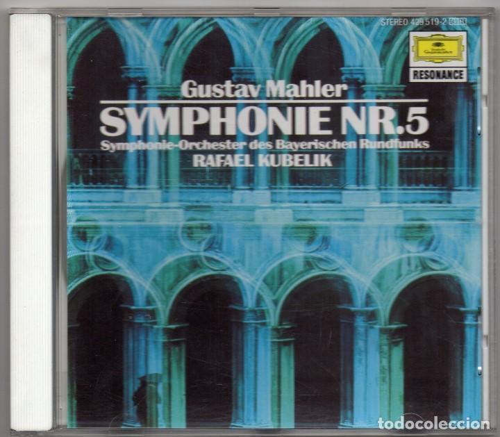 SYMPHONIE Nº5. GUSTAV MAHLER. CD. RAFAEL KUBELIK (Música - CD's Clásica, Ópera, Zarzuela y Marchas)