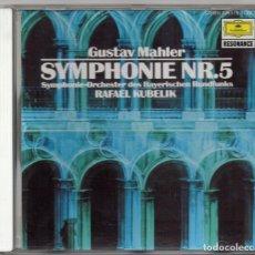 CDs de Música: SYMPHONIE Nº5. GUSTAV MAHLER. CD. RAFAEL KUBELIK. Lote 155260258