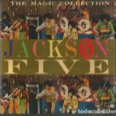 CDs de Música: CD JACKSON FIVE (CON MICHAEL JACKSON ) : THE MAGIC COLLECTION ( 24 CANCIONES ). Lote 155285474
