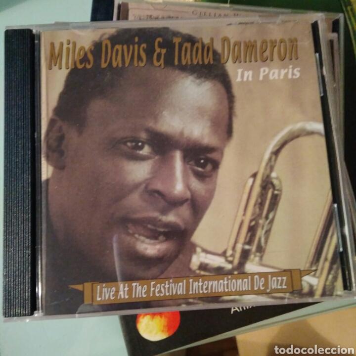 TADD DAMERON / MILES DAVIS - IN PARIS [ARPEGGIO JAZZ] (Música - CD's Jazz, Blues, Soul y Gospel)