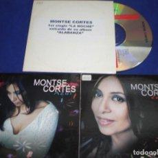 CDs de Música: LOTE 3 CD SINGLE PROMO MONTSE CORTES - ESTUCHE CARTON. Lote 155313890
