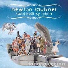 CDs de Música: NEWTON FAULKNER - HAND BUILT BY ROBOTS (CD, ALBUM) LABEL:BRIGHTSIDE RECORDINGS, UGLY TRUTH, PEERMUS. Lote 155319038