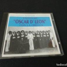 CDs de Música: ÉXITOS OSCAR D'LEON CON LA CRITICA. Lote 155321462