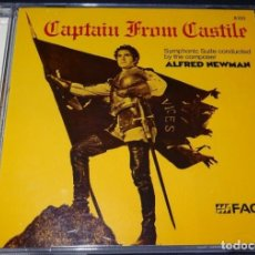 CDs de Música: CAPTAIN FROM CASTILE / ALFRED NEWMAN CD BSO - FACET. Lote 155322010