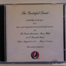CDs de Música: GRATEFUL DEAD - ONE FROM THE VAULT - DOBLE CD 2XCD USA 1991 - GRATEFUL DEAD. Lote 155327006