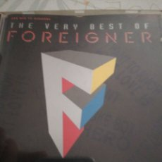 CDs de Música: FOREIGNER / CD / THE VERY BEST OF. Lote 155356241