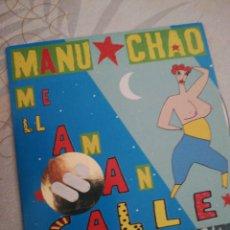 CDs de Música: MANU CHAO / ME LLAMAN CALLE / CD SINGLE / MANO NEGRA. Lote 155358345
