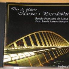 CDs de Música: BANDA PRIMITIVA DE LLIRIA, MARXES I PASSODOBLES, RAMÓN RAMÍREZ BENEYTO, CD, MARCHAS PASODOBLES. Lote 155374570