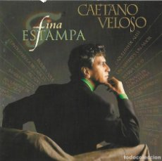 CDs de Música: CAETANO VELOSO. FINA ESTAMPA. CD. Lote 155382566