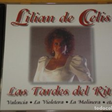 CDs de Música: LILIAN DE CELIS, LAS TARDES DEL RITZ, CD, ERCOM. Lote 155390498