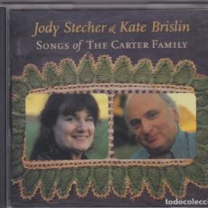 CDs de Música: JODY STECHER & KATE BRISLIN - SONGS OF THE CARTER FAMILY - CD . Lote 155391826