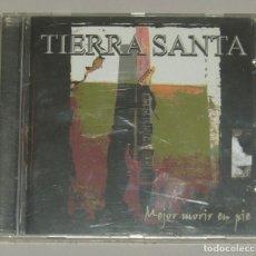 CDs de Música: TIERRA SANTA - MEJOR MORIR DE PIE - PRECINTADO. Lote 155402722