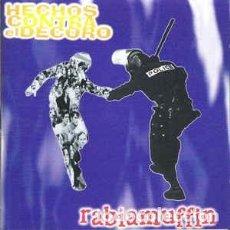 CDs de Música: HECHOS CONTRA EL DECORO - RABIAMUFFIN ( GORA HERRIAK – EO. 099 CD, CD, 1997) BUENO! . Lote 155404078