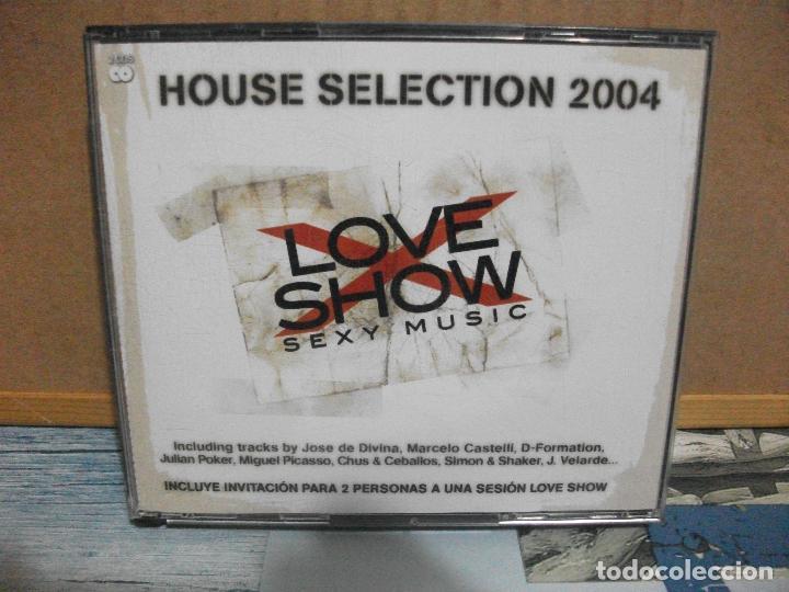 DOBLE CD HOUSE SELECTION 2004 LOVE SHOW SEXY MUSIC NUEVO¡¡ PEPETO (Música - CD's Disco y Dance)