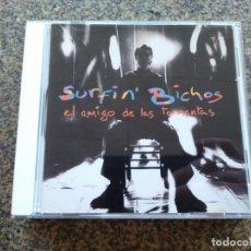 CDs de Música: CD -- SURFIN' BICHOS – EL AMIGO DE LAS TORMENTAS -- 12 TEMAS -- . Lote 155415762