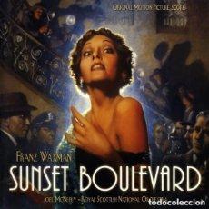 CDs de Música: SUNSET BOULEVARD / FRANZ WAXMAN CD BSO - VARESE. Lote 155424450