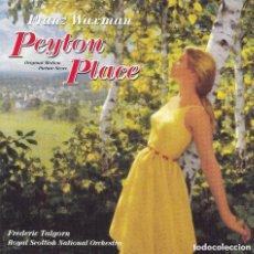 CDs de Música: PEYTON PLACE / FRANZ WAXMAN CD BSO - VARESE. Lote 155424562