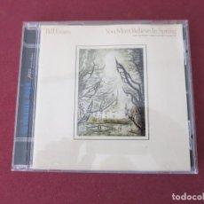 Music CDs - BILL EVANS YOU MUST BELIEVE IN SPRING CD - 155440362