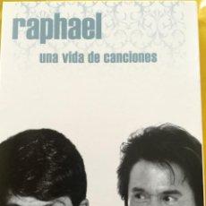 CDs de Música: UNA VIDA DE CANCIONES. RAPHAEL. FIRMADO. Lote 155440726