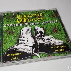 CDs de Música: CD - MUSICA - STÉPHANE JOLY, CHRISTOPHE BOUTIN – MINISTRY OF SPORT - OUTDOOR GRUNGE CONCEPT. Lote 155462554