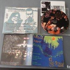 CDs de Música: RAFAEL AMOR. CD EL MUNDO SE MUEVE. GRABADO EN VIVO EN GALILEO GALIEI. MUY ESCASO Y RARO. Lote 155469066