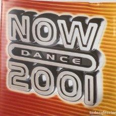 CDs de Música: CD NOW DANCE 2001. Lote 155470724