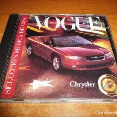 CDs de Música: SELECCION DE MUSICA DE CINE VOGUE CHRYSLER CD ALBUM 1998 MEMORIAS DE AFRICA AMADEUS BAGDAD CAFE. Lote 155490706
