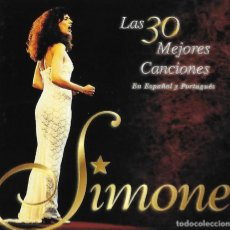 Musik-CDs - SIMONE. LAS 30 MEJORES CANCIONES EN ESPAÑOL Y PORTUGUÉS. 2 CD´S - 155493478