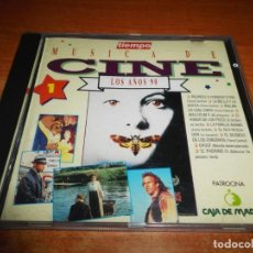 CDs de Música: MUSICA DE CINE LOS AÑOS 90 Nº 1 TIEMPO CD ALBUM 1993 LA BELLA Y LA BESTIA GHOST LA FAMILIA ADAMS. Lote 155495790