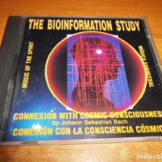 CDs de Música: THE BIOINFORMATION STUDY CD ALBUM 1992 MUSICA ESPIRITUAL JOHANN SEBASTIAN BACH NEW AGE BIOMUSIC. Lote 155501890