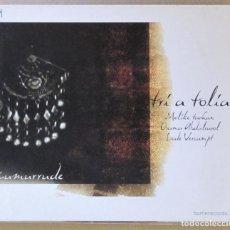 CDs de Música: TRÍ A TOLÍA. ZUMURRUDE. CARPETA Y CD VG++. CON LIBRETO EN INGLÉS.. Lote 155516038