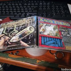 CDs de Música: KAOS ETILIKO CD NO HAY AGUA 1999. Lote 155531337