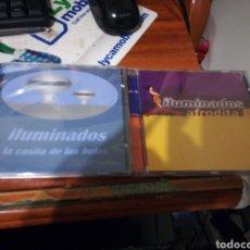 CDs de Música: LOTE 2 CD'S ILUMINADOS LA CASITA DE LAS BOLAS / AFRODITA B. Lote 155536156