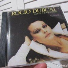 CDs de Música: ROCIO DURCAL* – CANTA A JUAN GABRIEL (VOLUMEN 2) -1990. Lote 155539218