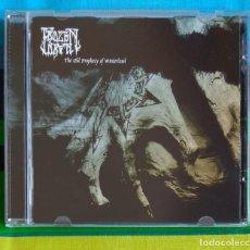CDs de Música: FROZEN DAWN - THE OLD PROPHECY OF WINTERLAND CD - BLACK METAL. Lote 155542214