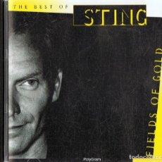 CDs de Música: STING FIELDS OF GOLD 1984 - 1994 (CD). Lote 155556062