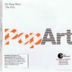 CDs de Música: PET SHOP BOYS THE HITS POP ART ( 2 CD). Lote 155557510