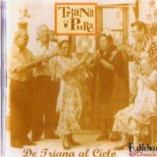 CDs de Música: TRIANA PURA DE TRIANA AL CIELO (CD). Lote 155563406