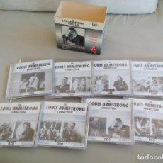 CDs de Música: THE LOUIS ARMSTRONG CONNECTION. CAJA CON 15 CD. BOX. DDD. Lote 155569982