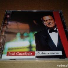 CDs de Música: JOSE GUARDIOLA 40 ANIVERSARIO CD ALBUM PRECINTADO 1998 12 TEMAS DUOS JOSE MANUEL SERRAT LOQUILLO. Lote 155607182