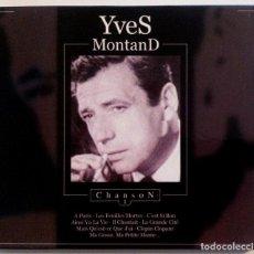 CDs de Música: YVES MONTAND - CHANSON 1 - CD 2003 - DIVUCSA. Lote 155632558