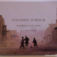 CDs de Música: YOUSSOU N'DOUR - NOTHING'S IN VAIN (COONO DU RÉÉR) - CD 2002 - NONESUCH. Lote 155671478