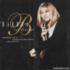 CDs de Música: BARBRA STREISAND. THE CONCERT. 2 CD´S. Lote 155688322