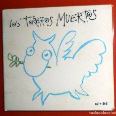 CDs de Música: CD + DVD DESCATALOGADO - LOS TOREROS MUERTOS DRESSING ROOM - BMG SONY 2007 - RARO - PABLO CARBONELL. Lote 155690334
