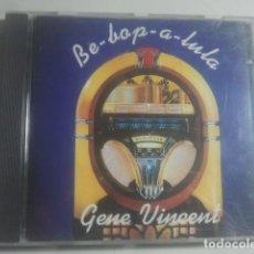 CDs de Música: GENE VINCENT - BE-BOP-A-LULA - CD. Lote 155692118