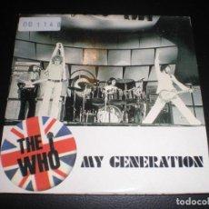 CDs de Música: THE WHO MY GENERATION CD SINGLE 1996 CARDSLEEVE PROMO VG+/VG . Lote 155693146