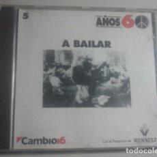 CDs de Música: AÑOS 60 - CD - A BAILAR, Nº 5. Lote 155694786