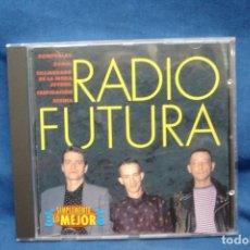 CDs de Música: RADIO FUTURA - SIMPLEMENTE LO MEJOR . Lote 155700042
