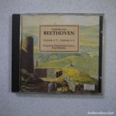 CDs de Música: ORQUESTA FILÁRMONICA CHECA. PAUL KLETZKI - BEETHOVEN SINFONÍA N.º 5 Y N.º 6 - CD 1988 . Lote 155703686